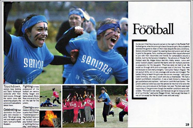academic yearbook spreads | view of the spread in Northview's The Wyandotte yearbook which was ...