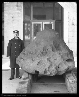 Williamette Meteorite from AMNH archives