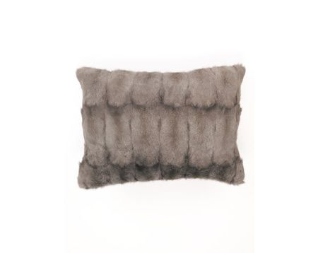 Fur & Cashmere Cushion | Nuttall