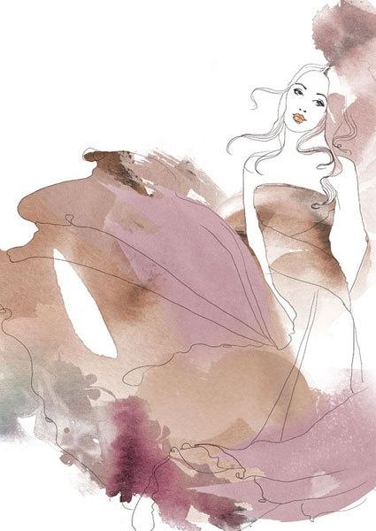 Illustrations for Marie Claire Spain by Judit García-Talavera, via Behance