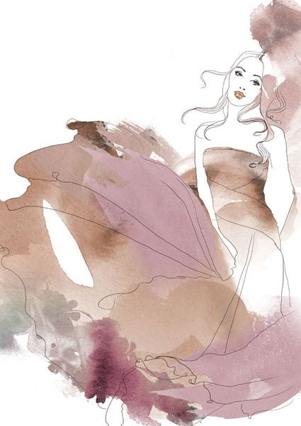 Illustrations for Marie Claire Spain by Judit García-Talavera, via Behance