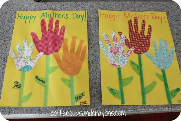 Mother S Day Card Making Ideas For Children – Mothers Day Ideas For Kids  Homemade Gifts And More  Spoonful