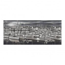 Dekor Ceramika Color Portofino 25 x 60 cm biało-czarny
