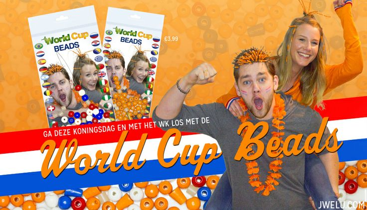 Go crazy this upcoming World Cup with the 'World Cup Beads'!