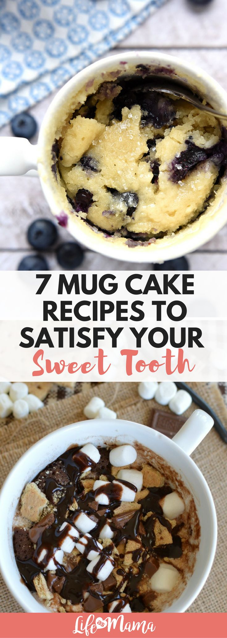The mug cake is a single serving cake that's whipped up and heated in a coffee mug just in the microwave! Perfect for satisfying your sweet tooth, without wreaking havoc on your waistline.