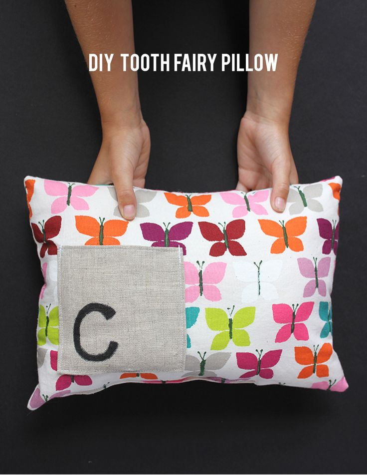 54 best perfect diy pillows images on pinterest pillows toss diy tooth fairy pillow solutioingenieria Gallery