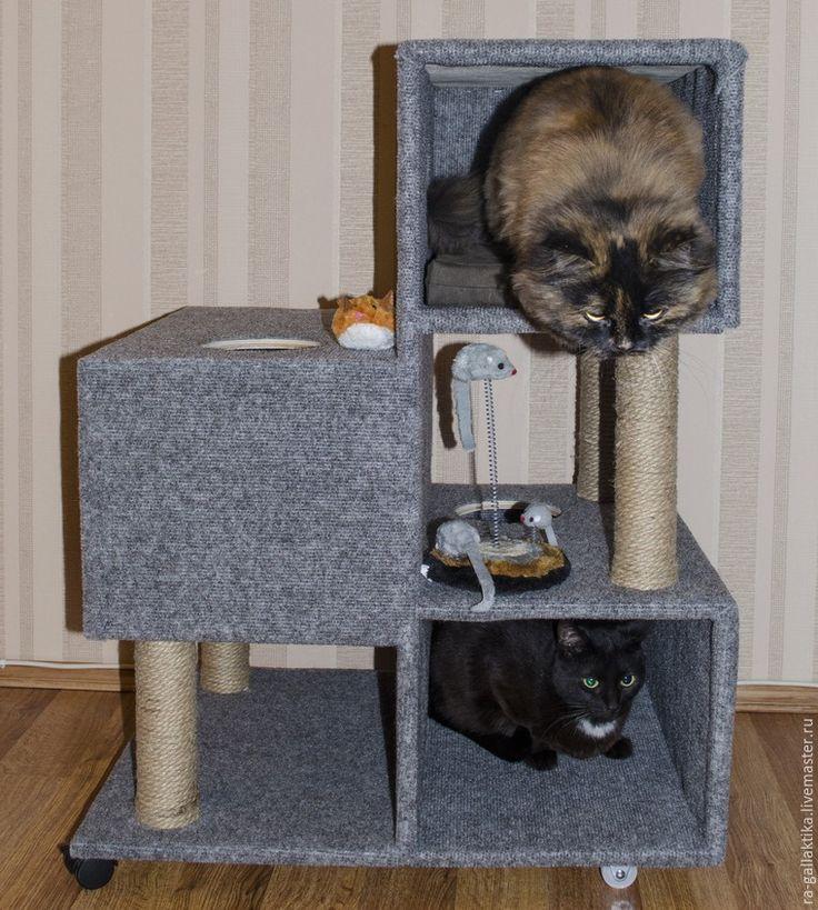 Строим кошкин дом за пару дней - Ярмарка Мастеров - ручная работа, handmade