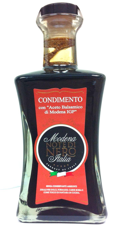 """#Aceto Balsamico di #Modena - Note di Nero """"Condimento"""" / Balsamic #Vinegar of #Modena - Note di Nero """"Condiment"""""""