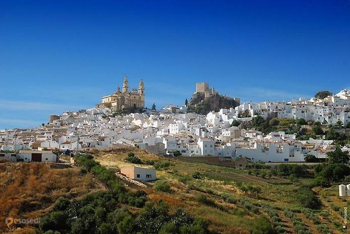 Ольвера – #Испания #Андалусия (#ES_AN) Ольвера (Испания, Андалусия) - белый город, не Минас-Тирит, конечно, но тоже отлично выглядит. Вокруг оливковые рощи, апельсиновые деревья, дающие урожай несколько раз в год, красота... На испанском юге немало таких городков, облаченных в белое, видимо, дело в вечном лете, ведь белый - цвет лета!  #достопримечательности #путешествия #туризм http://ru.esosedi.org/ES/AN/1000055416/olvera/
