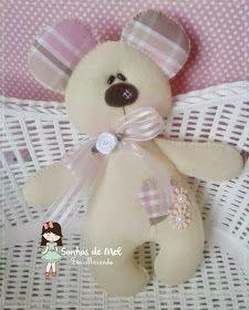 Sogni ੴ Miele '- Artigianato in feltro e tessuto: oo muffa dell'orso ...