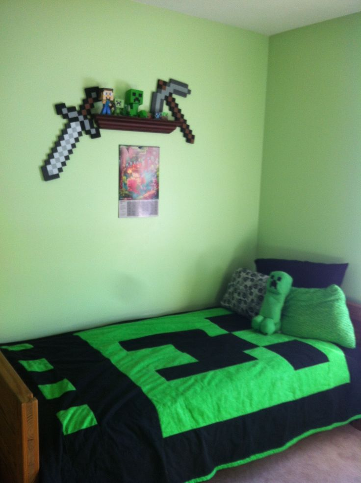 Minecraft bedroom