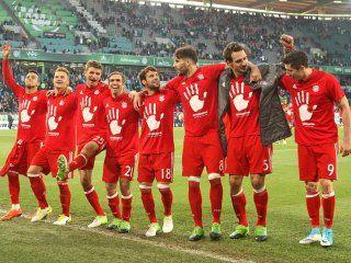 Bayern München feiert die Meisterschaft