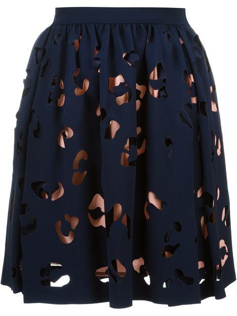 Shop MSGM cut-out overlay skirt in Jean Pierre Bua from the world's best independent boutiques at farfetch.com. Shop 400 boutiques at one address.