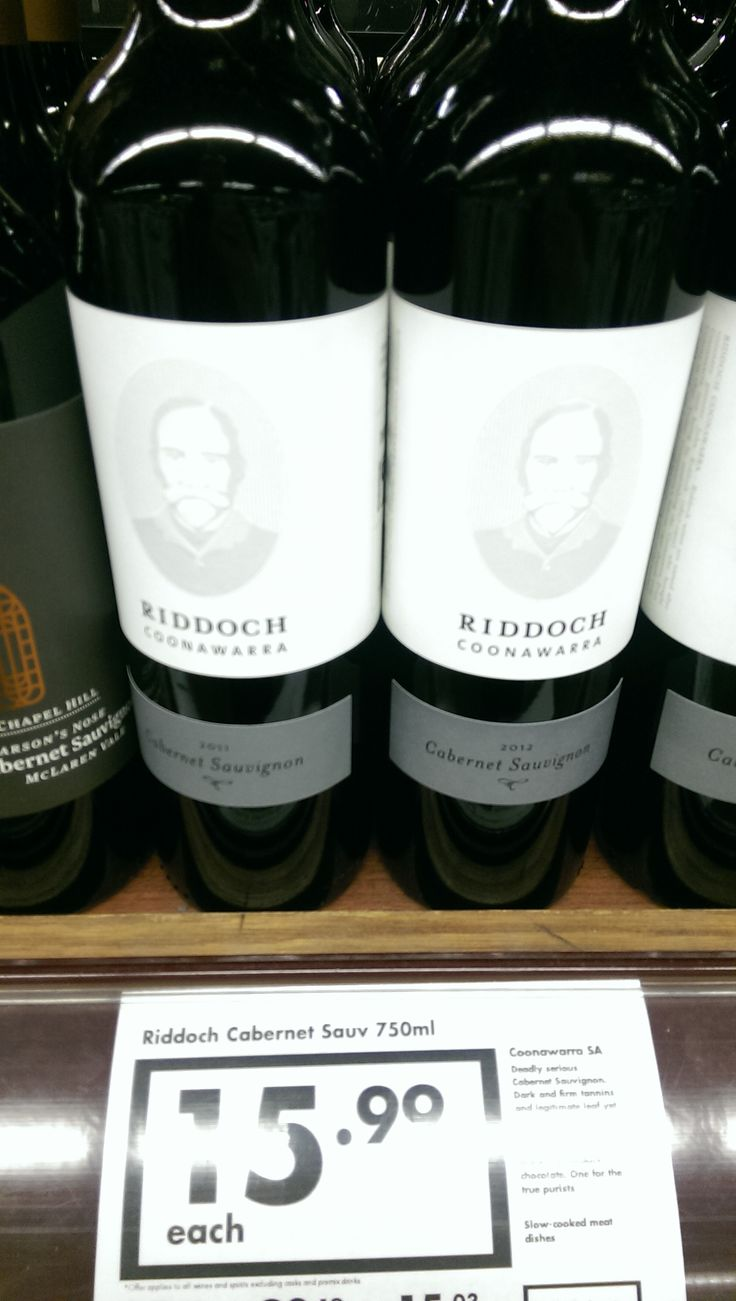 Cabernet Sauvignon from Coonawarra is what it all about... rich flavours with long tannins and blah blah blah wine talk... just try Riddoch's Coonawarra Cab Sauv and thank me later!