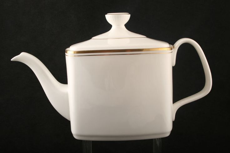 Королевский Долтон - Золото Concord - H5049 - Чайник с крышкой - Прямоугольный