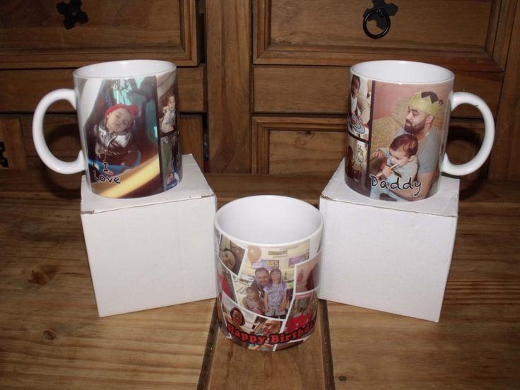 Personalised Coffee Mug, Personalised Tea Mug, Custom Mug, Custom Photo Mugs, Custom Logo Mug, Custom Text Mug, Personalised Photo Mug by 4matDigital on Etsy