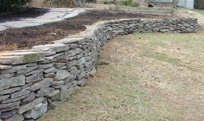 Stone Wall Natural Stone Wall Exterior Paint Ideas