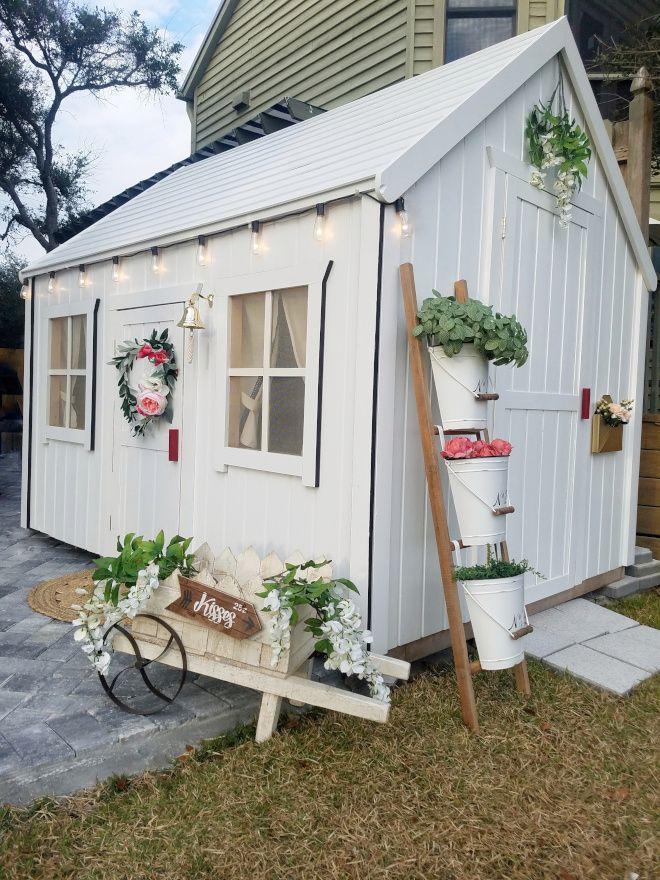 Beautiful Homes Of Instagram Coastal Farmhouse Home Bunch Interior Design Ideas Farmhouse Sheds Play Houses Shed Decor