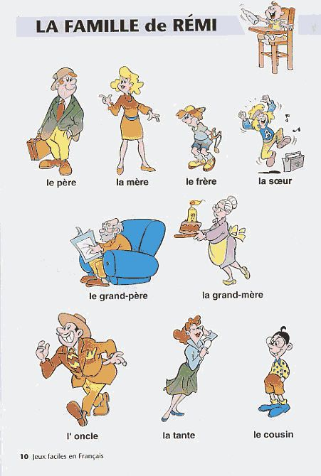 Connu 128 best FLE : la famille images on Pinterest | Sleep, French  UD78