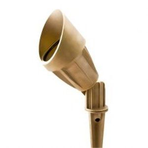 Brass garden spike light - kes an MR16 lamp. Ask about our LED lamps and transformers to suit this product - Price: $85.00 AUD