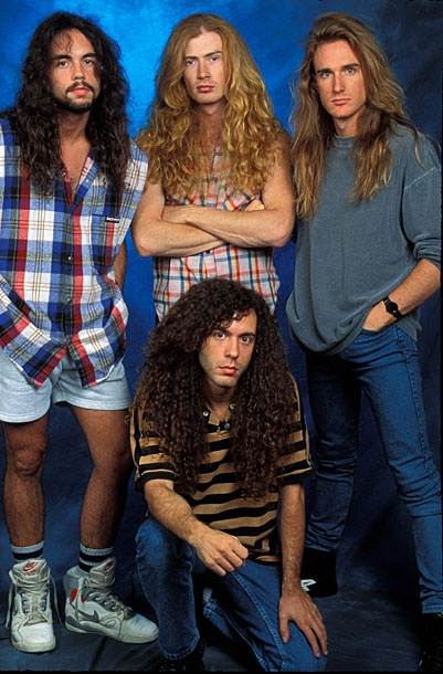 Megadeth-    The Fug Girls Look Back at Eighties Hair-Band Style -- Vulture