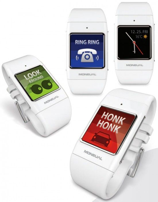Smart wristwatch for the deaf and hard of hearing