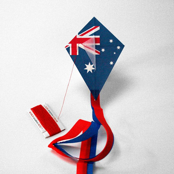Australian flag KITE- kitecompany.com