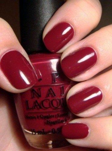 Glamour mit roten kurzen Nägeln Art. 02 – Beautiful