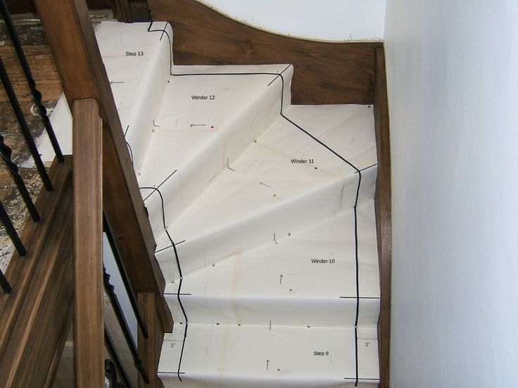 How to make templates for your stair winders - Stonegate ...