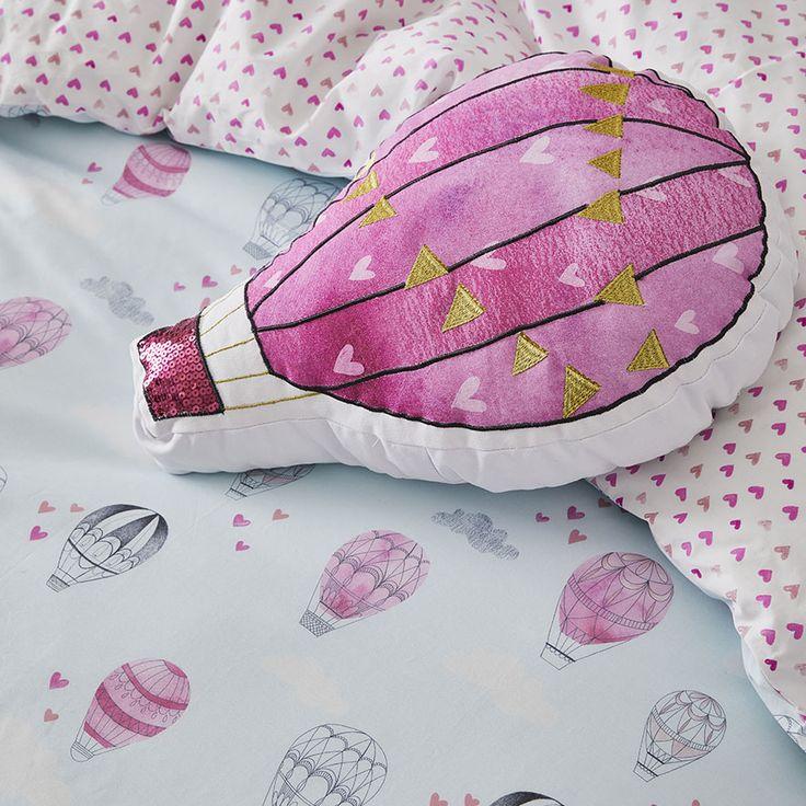 Adairs Kids - Up Up & Away Quilt Cover Set - Bedroom - Quilt Covers & Coverlets - Adairs Kids Online