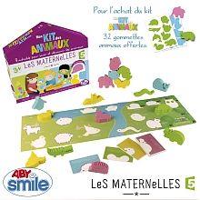 Abysmile - Les Maternelles - Mon Kit des animaux