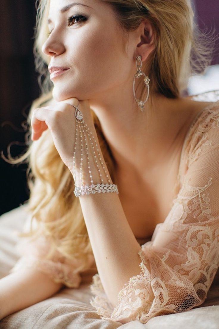 Нежное утро невесты #утро #невеста #образ #элегантность #украшения #красота