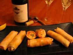 Bayley's Maine Lobster Pound's Maine Lobster Spring Rolls - Lobster Recipe