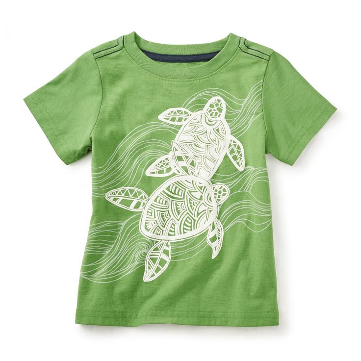 Batik Turtles Graphic Tee