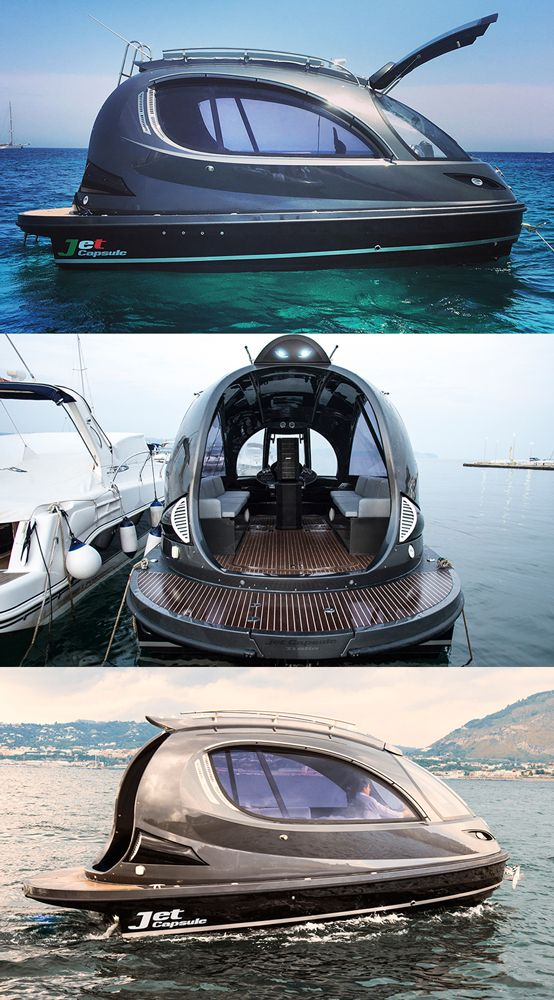 The Jet Capsule Will Soon Catapult Across the Water