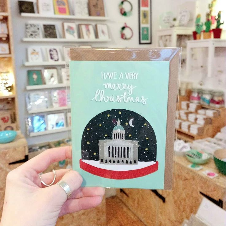For last minute gifts and Christmas cards try @handmadenotts where you can find a selection of my products! . . . @Regranned from @handmadenotts -  We are open! If you still need to get some Christmas cards we have a great selection in store including this card by @hannahstevensdesign featuring the council house! . . . #nottinghamcouncilhouse #councilhouse #nottinghamchristmascard #nottinghamchristmas #christmas #nottingham #christmascard #justacard #shopsmall #shopindependent #shoplocal…