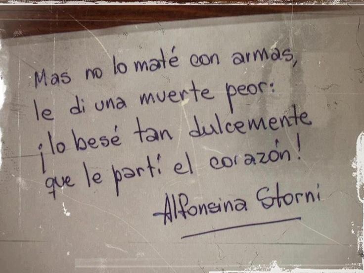 Alfonsina Storni. 21 de marzo, Día Mundial de la Poesía.