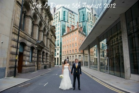 Jen and Darren's Chic and Modern Manchester Wedding by Nicola Thompson