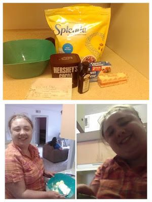 Angelika's mighty missions : low carb fudge!