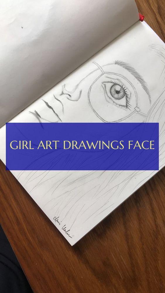 mädchen kunst zeichnungen gesicht
