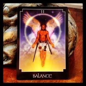 Balance, Psychic Tarot by John Holland
