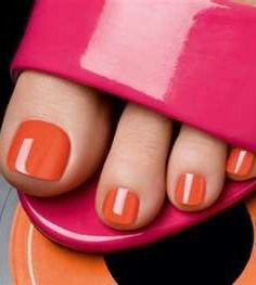 ❧ Couleur : Orange et rose ❧