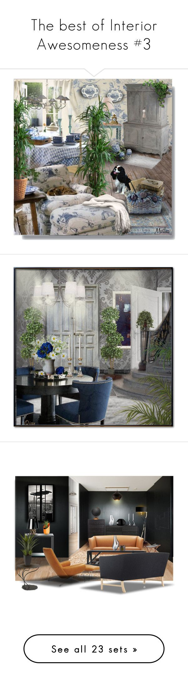 The best of Interior Awesomeness #3 by kearalachelle on Polyvore featuring Interiorawesomenessbest, interior, interiors, interior design, home, home decor, interior decorating, SANDERSON, John Rocha and Johnson Brothers