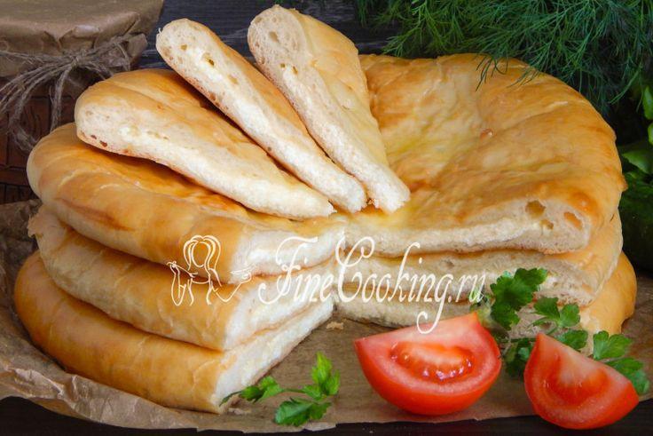 Осетинский пирог с сыром - рецепт с фото