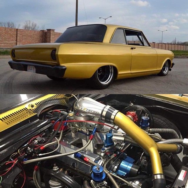 Old Chevy Cars >> Nova running 1100whp via a twin turbo 413ci SBC. | GM - Chevelle and Novas | Chevy muscle cars ...