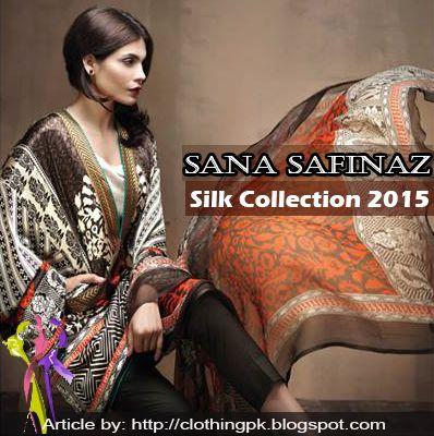 Sana Safinaz Eid-ul-Adha Silk Dress Collection 2015 http://clothingpk.blogspot.com/2015/09/sana-safinaz-eid-silk-dress-collection.html