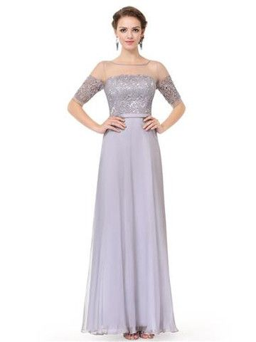 MARILYN Dress - Silver Grey