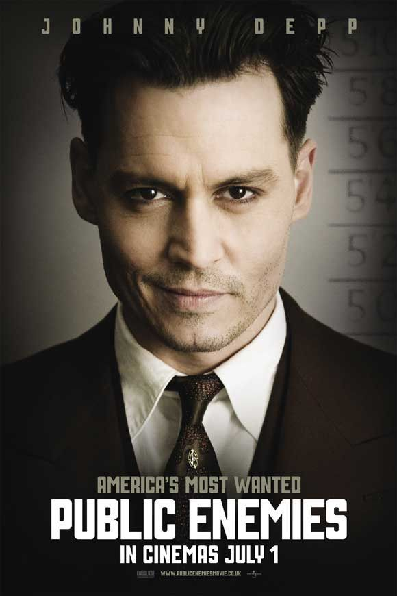 Public Enemies (UK) 27x40 Movie Poster (2009)