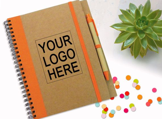 Branded Notebook With Logo Promotion Gift Business от LooveMyArt