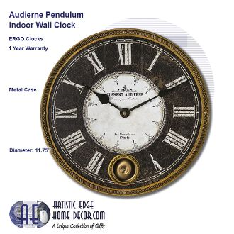 ERGO Audierne Pendulum Wall Clock